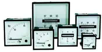 Frequencímetro para painel