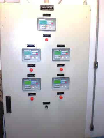 Quadro de transferência manual para gerador