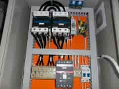 Quadro elétrico montado