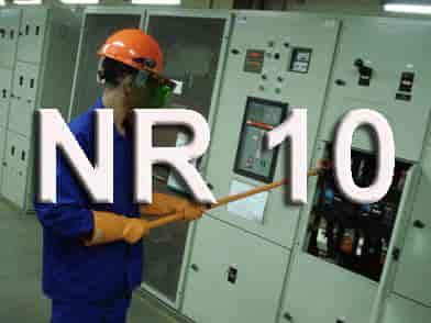 Painel elétrico nr10