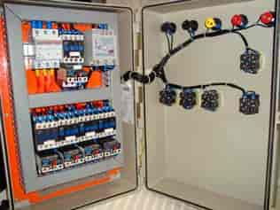 Painel comando elétrico