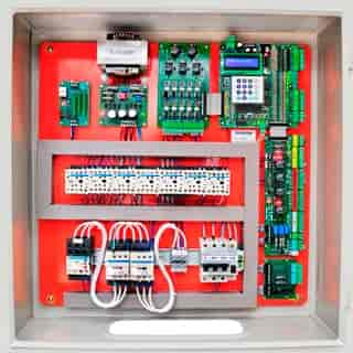 Painel elétrico para compressor